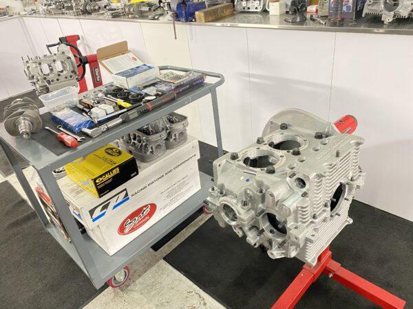 2387cc Aircooled vw engine