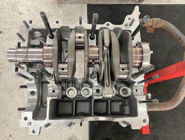 2387cc flanged crank