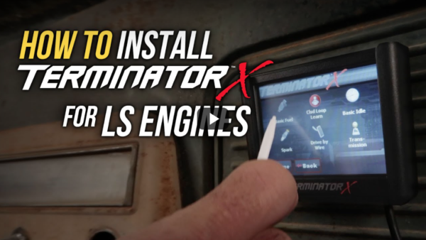 How to install Holley Terminator X-max
