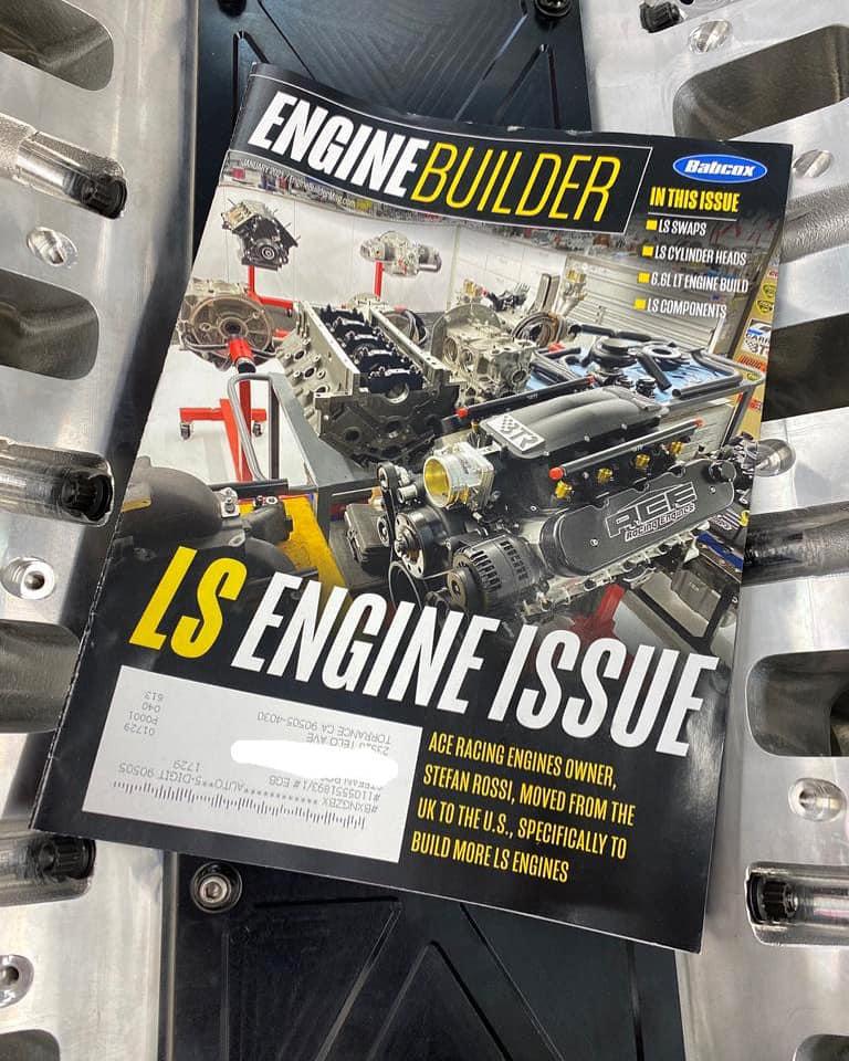 Drag Race Engine Builder