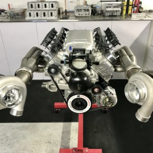 1000hp Twin Turbo LS engine