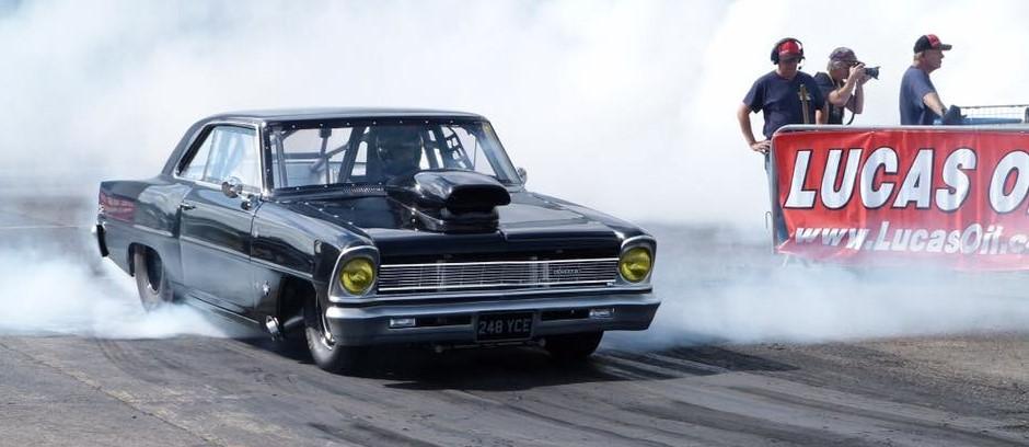 Drag Race Twin Turbo LS nova