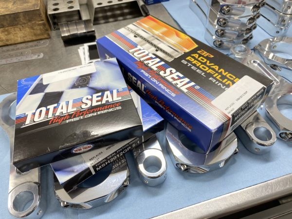 Total Seal Gapless Gas Ported piston rings