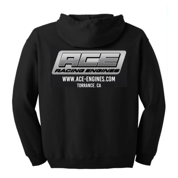 ACE Racing Engines hoodie back